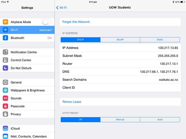 iPad details