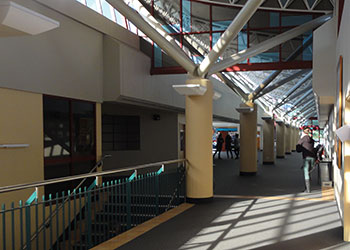 S Block Foyer