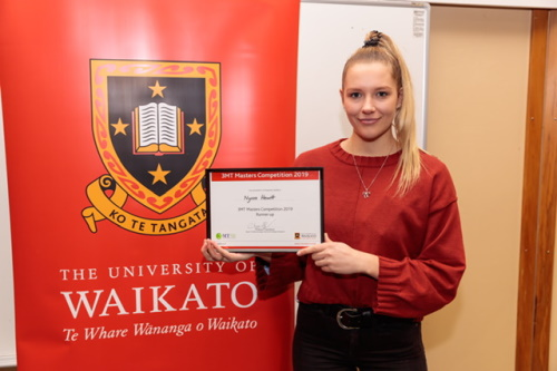 University of Waikato Masters student wins international chemistry scholarship
