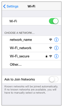 iPhone WiFi