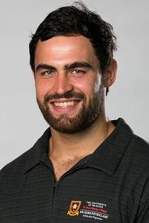 Hillary Medal recipient Adam Burn (rugby).