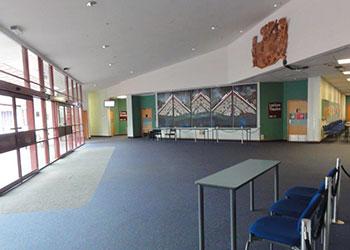 Management Building Foyer