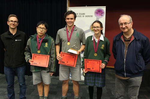 ChemQuest 2016 winners