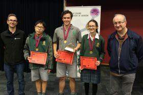 ChemQuest 2016 winners