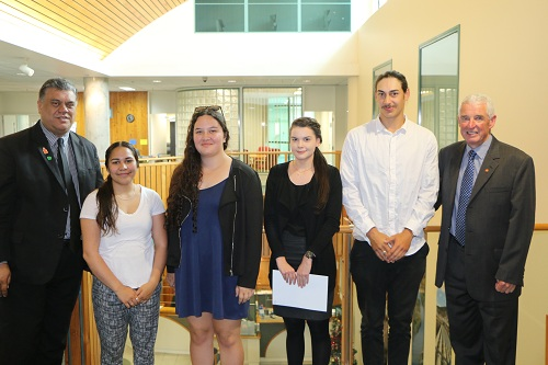Māori students rewarded for environmental study