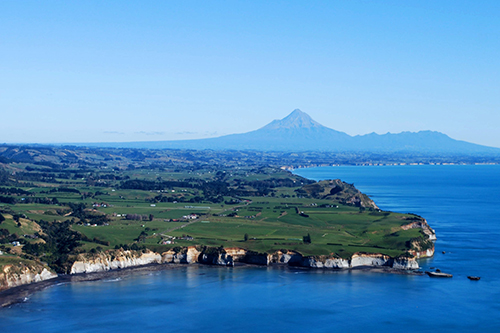 From mountain to sea - studying Taranaki ecosystems
