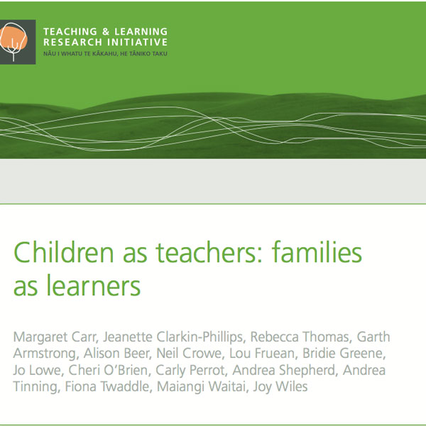 Children as teachers, families as learners