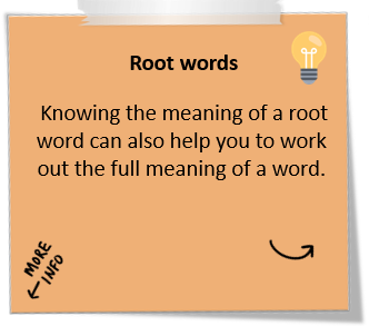 Root words - Student Learning: University of Waikato