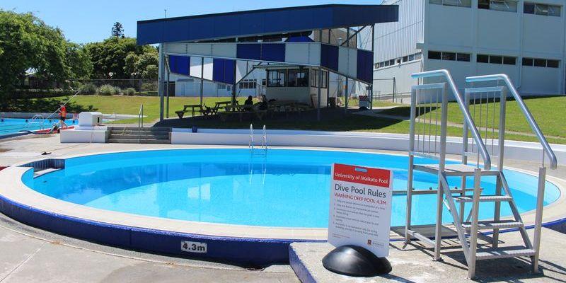 Swimming Pool Sport At Waikato University Of Waikato