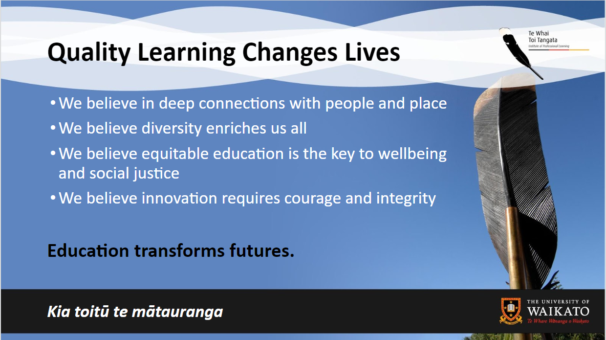 Quality Learning Changes Lives