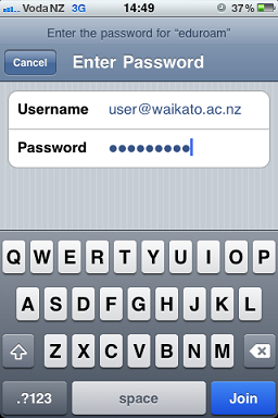 iPhone Login