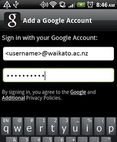 Android Sign In