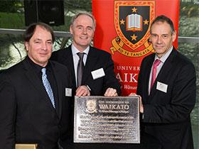 Internet plaque ceremony