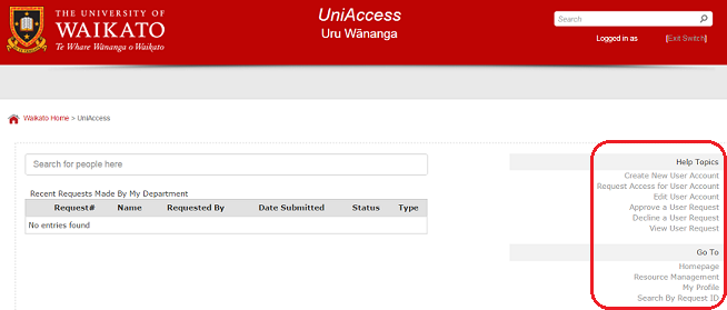 UniAccess Home