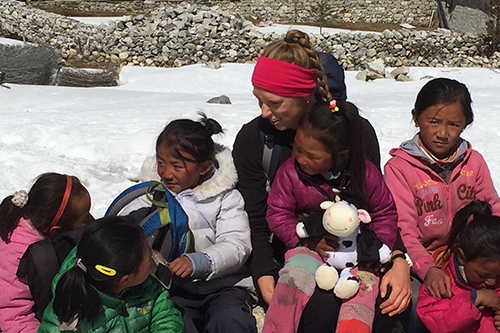 Hillary scholar's unfinished business in Nepal