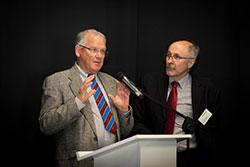 Warren Hughes and Frank Scrimgeour