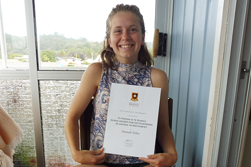 Top scholarship for Whitianga Local