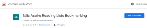 Bookmarking Extension Chrome image 1