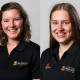 Claudia Ashby and Kelly Petersen - Sir Edmund Hillary Medallists 2020.