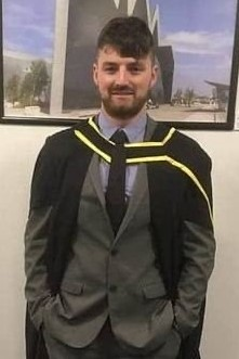 PhD student Charlie Roberts
