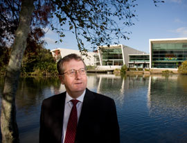 Vice-Chancellor Professor Roy Crawford