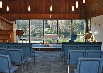 Lady Goodfellow Chapel Inside