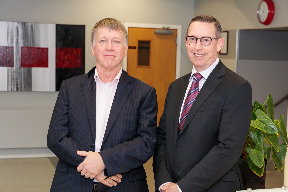 Dr Kevin Snee and Professor Neil Quigley