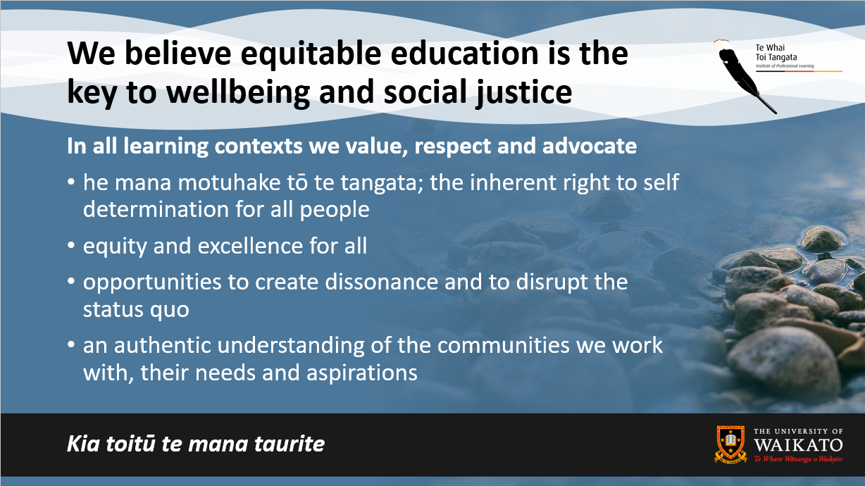 Equitable Education is the key to social justice