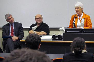 Margaret Wilson speaks at the Education Forum