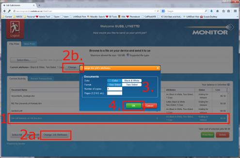 webprint select file
