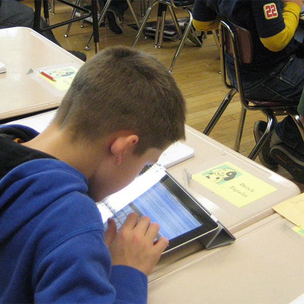 Thinking and problem solving with iPads