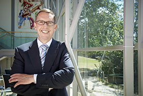 Vice-Chancellor Professor Neil Quigley