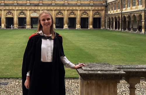 Waikato alumna completes Cambridge PhD