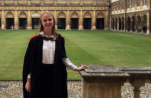 Waikato alumna completes Cambridge PhD