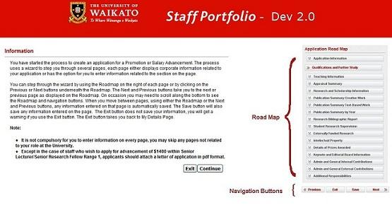 Academic Staff Portfolio Guide - ICT Self Help : University
