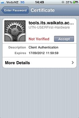 iphone verify