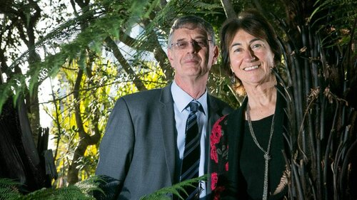 Bruce and Bev Clarkson