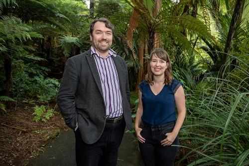 Professor Vincent Reid and Dr Aleea Devitt
