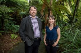 Professor Vincent Reid and Dr Aleea Devitt