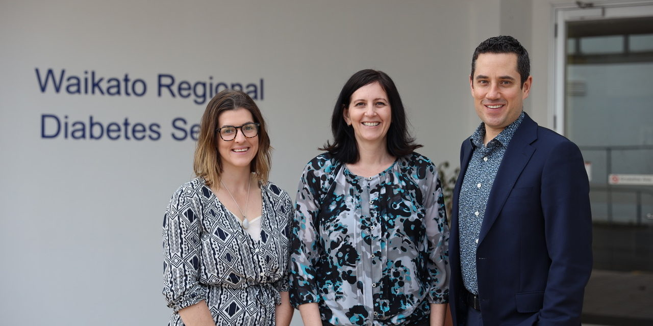 Brittany Morison, Dr Lynne Chepulis and Dr Ryan Paul