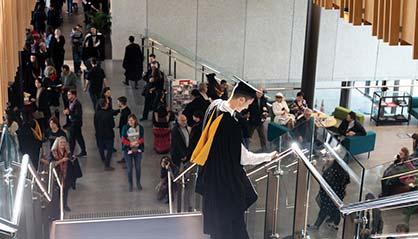 Tauranga Campus Lobby Graduation