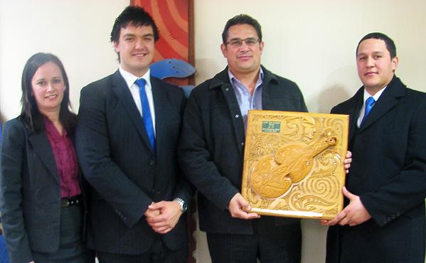 Rachael Hall (Judge), Luke Claasen, Aidan Warren (Judge), Hemi Te Nahu