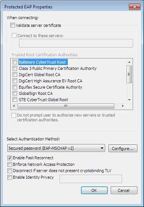 Network authentication 2