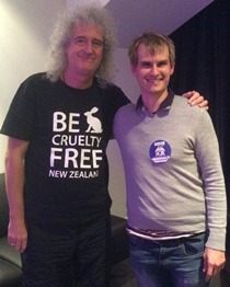 Brian May and Nick Braae