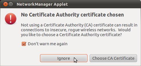 ubuntu certificate