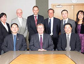 Tongji University visit