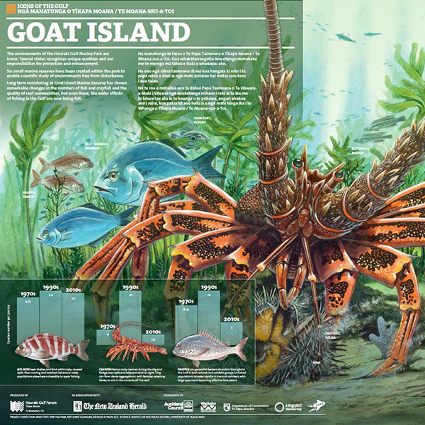 poster goat island