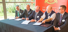 South Waikato principals sign a Memorandum of Understanding