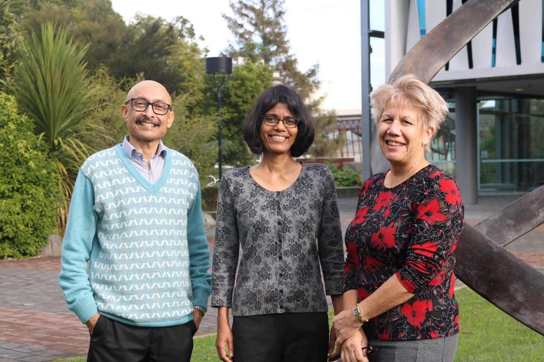 Debashish Munshi, Priya Kurian and Sandy Morrison
