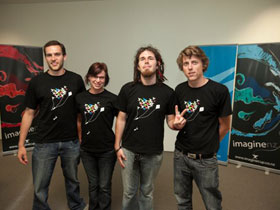 Computer Science Students at the Imagine Cup